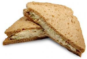 tonijnsalade sandwich