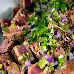 Tonijnsalade met limoen