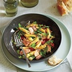 Pasta tonijnsalade met rucola en sjalotjes