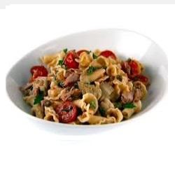 Campanella pasta tonijnsalade